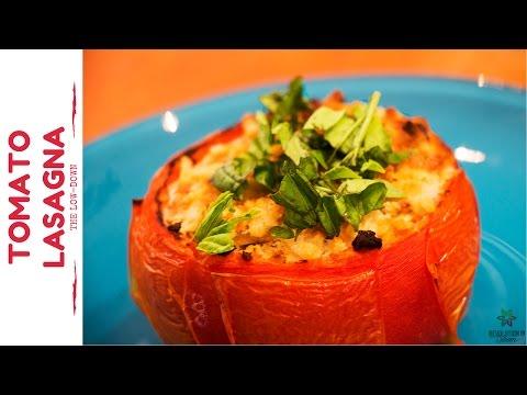 Healthy Tomato Stuffed Lasagna | Vegan Recipe #110
