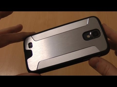 Cygnett UrbanShield Samsung Galaxy S4 Review - Brushed Aluminium