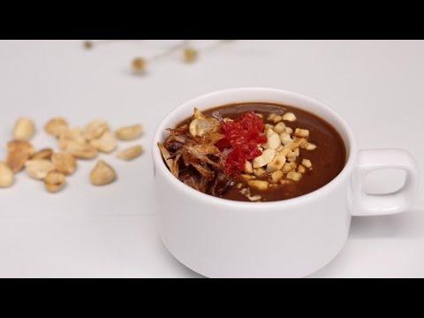 Cách làm TƯƠNG chấm gỏi cuốn | Ẩm thực Việt - Món dễ làm | Huong dan - Cooky TV