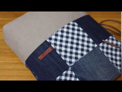 Shine Sewing Tutorial DIY Denim Bag