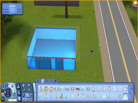 The Sims 3- How to build a Shark Aquarium