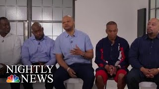 Men Known As 'Central Park Five' Speak Out 30 Years After Wrongful Conviction   NBC Nightly News