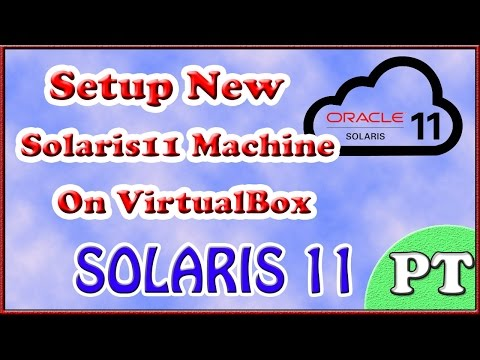 ** SOLARIS 11 ** INSTALLATION ** SETUP NEW MACHINE ** PERSONAL TUTOR **