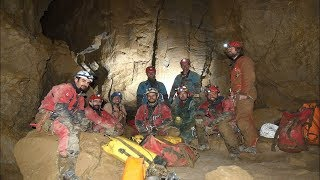 Group of explorers discover the deepest cave known in Canada in the north Fernie