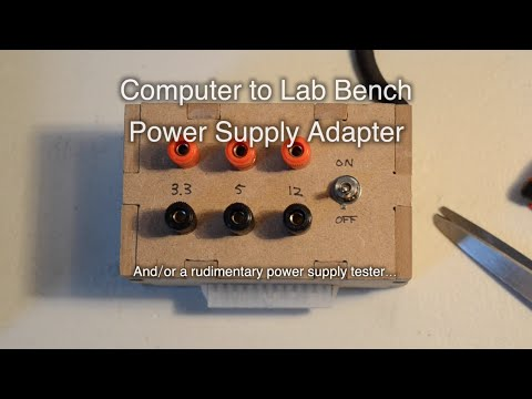 PC to Benchtop Power Supply Adapter - Shapeoko Project #37