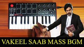 Vakeel Saab - Mass Teaser Bgm By Raj Bharath | Pawan Kalyan | Thaman.S