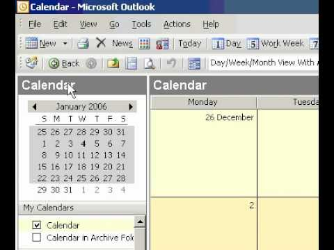 Microsoft Office Outlook 2003 Turn an appointment into a meeting