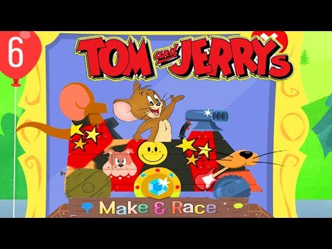 Tom And Jerry - Boomerang Make and Race . Fun Tom and Jerry 2018 Games. Baby Games #2 #LITTLEKIDS