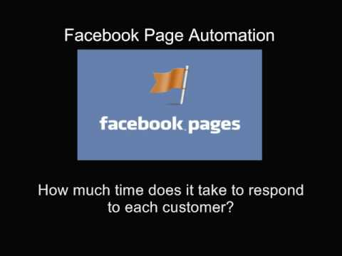 Facebook Page Automation - Aitomation