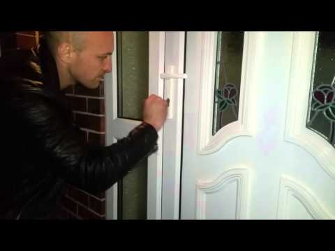 How to drill euro lock
