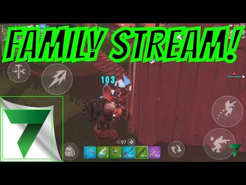 PRACTICE WITH MY SONS in FORTNITE MOBILE!!   Fortnite Mobile