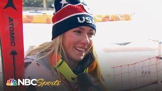 2018 Winter Olympics Recap Day 6 (Mikaela Shiffrin) I Part 1 I NBC Sports