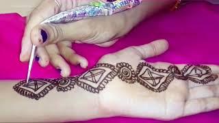 Very Vasy Beautiful & Acttractive Mehndi Design