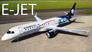 Embraer E-Jet - designed to gain the market supremacy