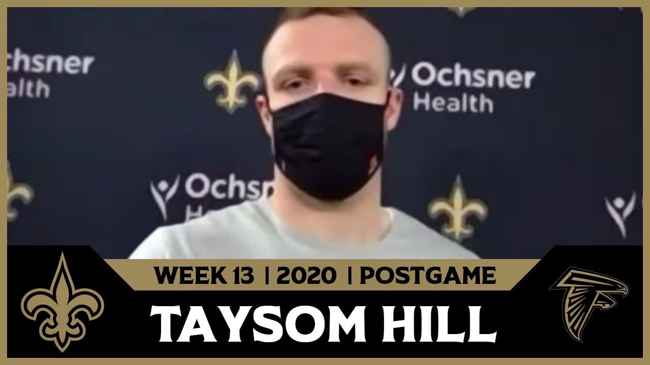 Taysom Hill on Week 13 Win | Saints-Falcons Postgame | Week 13 2020