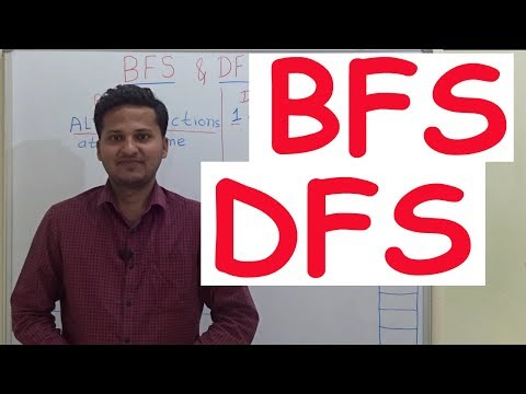 BFS and DFS in a Binary Tree