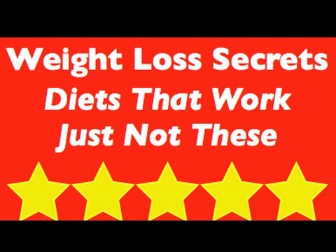 Weight Loss Secrets: Diet Foods That Work Just Not These