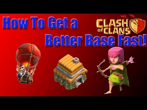 How to Get a Better Base Fast in Clash of Clans