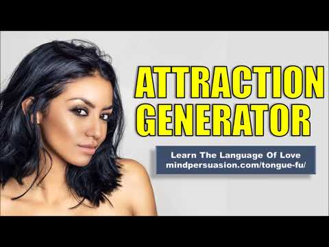 Attraction Generator - Your Words Generate Unstoppable Desire - Subliminal Affirmations