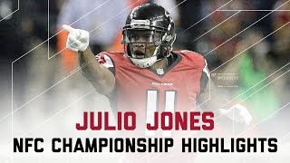 Julio Jones Goes Off for 180 Yards & 2 TDs! | Packers vs. Falcons | NFC Championship Highlights