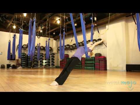 Anti-Gravity Yoga Technique and Impressive Poses