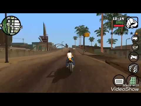 Unbelievable jump from the bike in GTA San Andreass