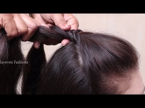 Different French braid hairstyle for Wedding/Party    Wedding guest hairstyles in saree #hairstyles