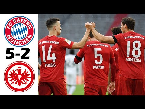 Bayern Munich vs Eintracht Frankfurt 5-2| all goals & extended highlights bundesliga 2020