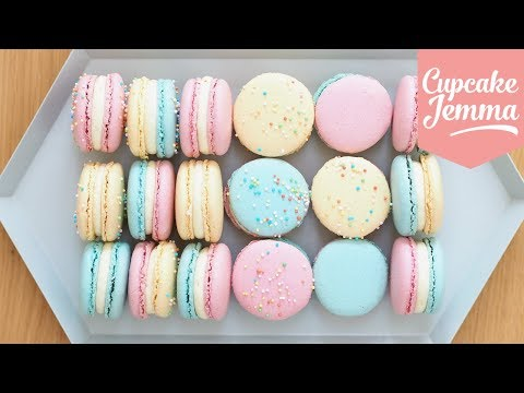 Macaron Masterclass - How to Make Perfect Macarons | Cupcake Jemma
