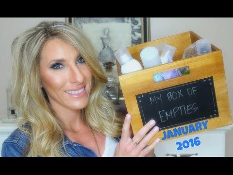 Beauty Empties | January 2016!!