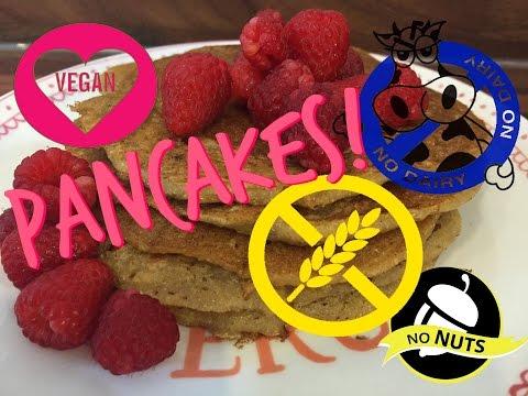 EASY & BEST GLUTEN-FREE PANCAKES! | DAIRY FREE | VEGAN | HEALTHY! Tutorial recipe