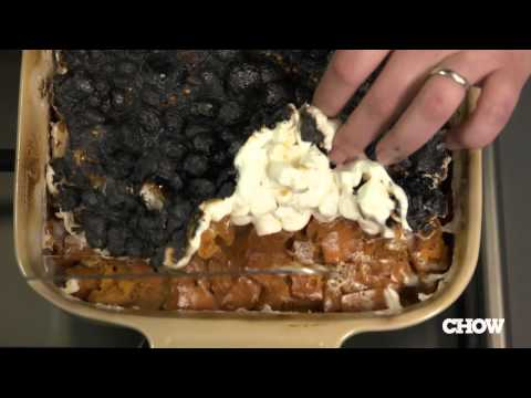How to Deal with Burnt Marshmallows on Sweet Potato Casserole - CHOW Tip