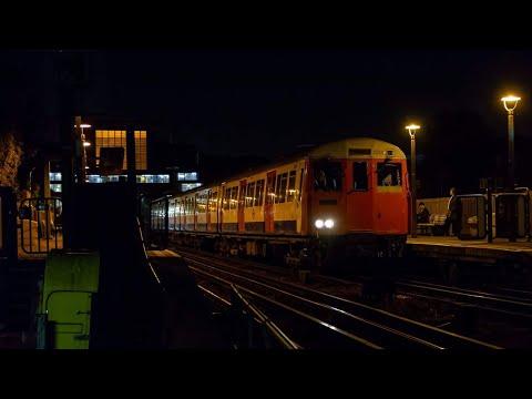 London Underground 5234 & 5235 A62 Stock Passing South Harrow on it's finally Run