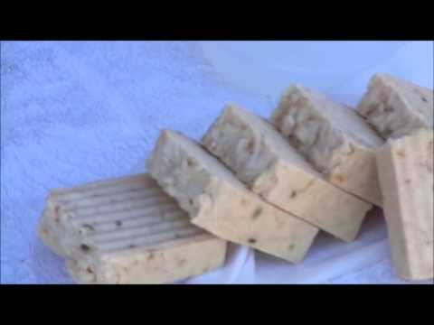 How to make homemade bar soap