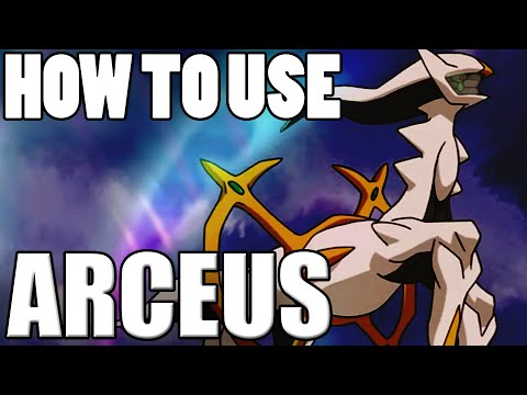 Pokémon How To Use: Arceus! Arceus Moveset - Pokemon Omega Ruby and Alpha Sapphire / X&Y Guide