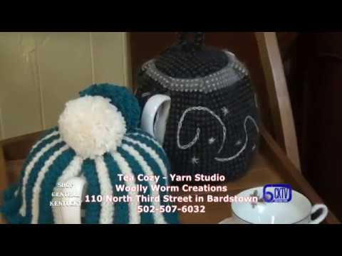 Shop Central Kentucky AT The Tea Cozy - Yarn Sudio/ Woolly Worm Creations