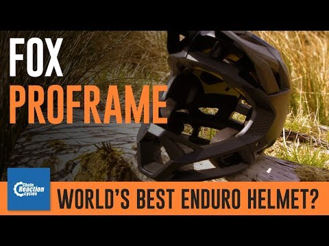 Fox Proframe - the world's best enduro helmet?