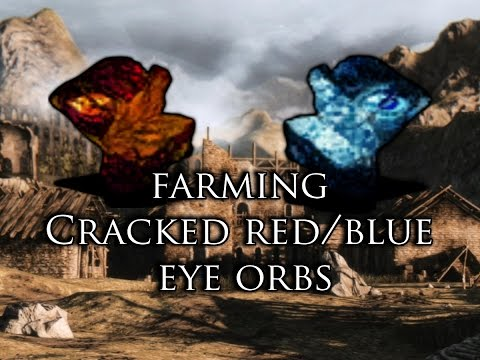 Dark Souls 2: How to Farm Cracked Red Eye Orbs and Blue Eye Orbs (With Agape Ring) (Non DLC)