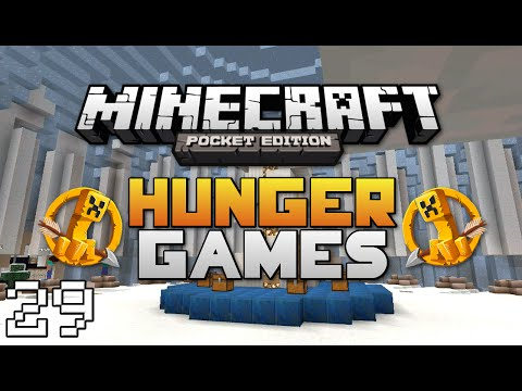 Minecraft: Pocket Edition Hunger Games #29   3rd Person View Challenge