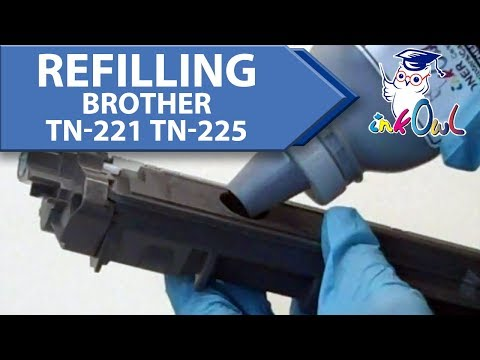 How to Refill a Brother TN-221 or TN-225 Toner Cartridge