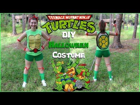 DIY Teenage Mutant Ninja Turtles Halloween Costume