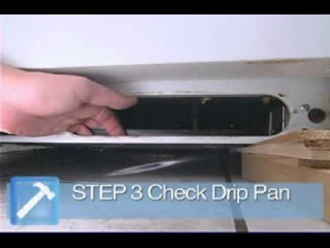 How to Fix a Leaking Refrigerator
