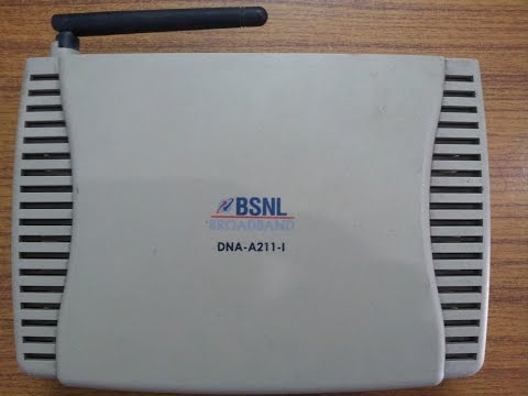 How to change WiFi password in ITI DNAA211I ADSL WiFi modem