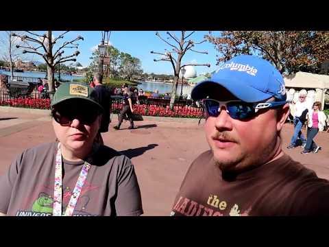 Disney's Epcot Festival of the Arts FULL walk through Lee & Jen day!!!