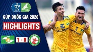 Sông Lam Nghệ An vs Bình Định 1 - 0 | Hightlight Vòng Loại Cúp Quốc Gia 2020 | On Sports