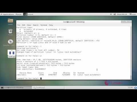 How to configure RAID 0 on CentOS 7