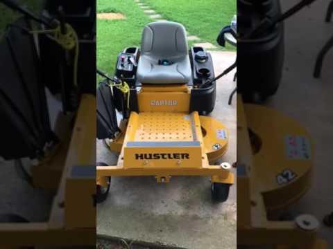 Hustler Raptor 10 hour oil change
