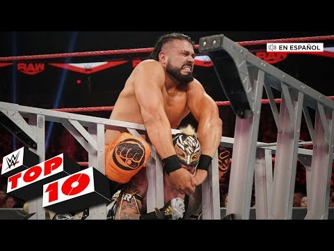 Xxx Mp4 Top 10 Mejores Momentos De Raw En Español WWE Top 10 Jan 20 2020 3gp Sex