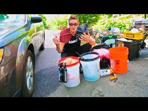 Best Carwash Technique: 15 Steps + Tools