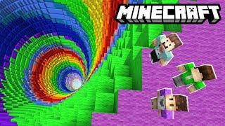 THE PALS vs. RAINBOW DROPPER! (Minecraft)